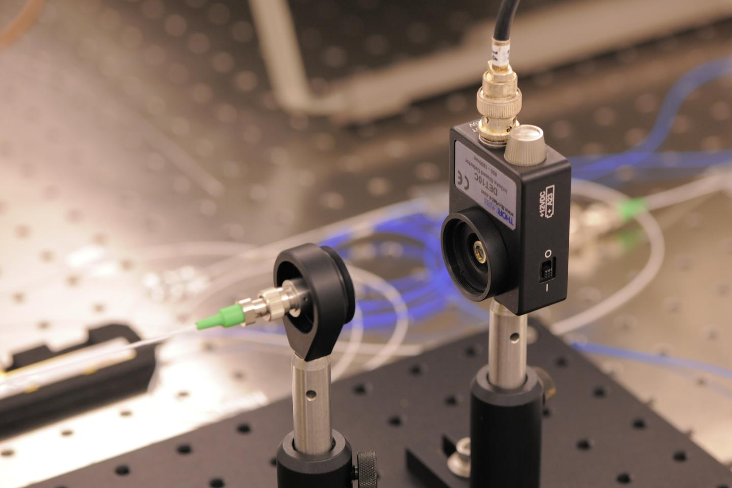 Broadband laser system used to detect gravity waves (Photo: NASA/Pat Izzo)