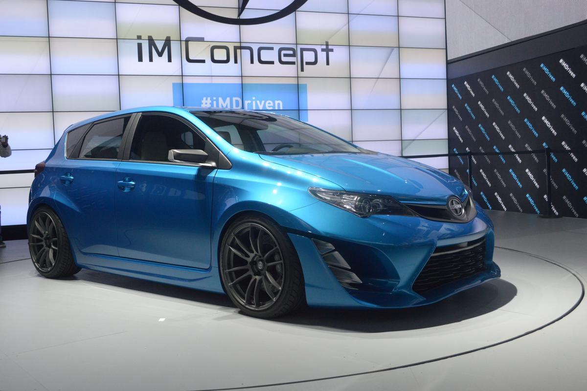 The Scion iM Concept at the LA Auto Show (Photo: C.C. Weiss/Gizmag)
