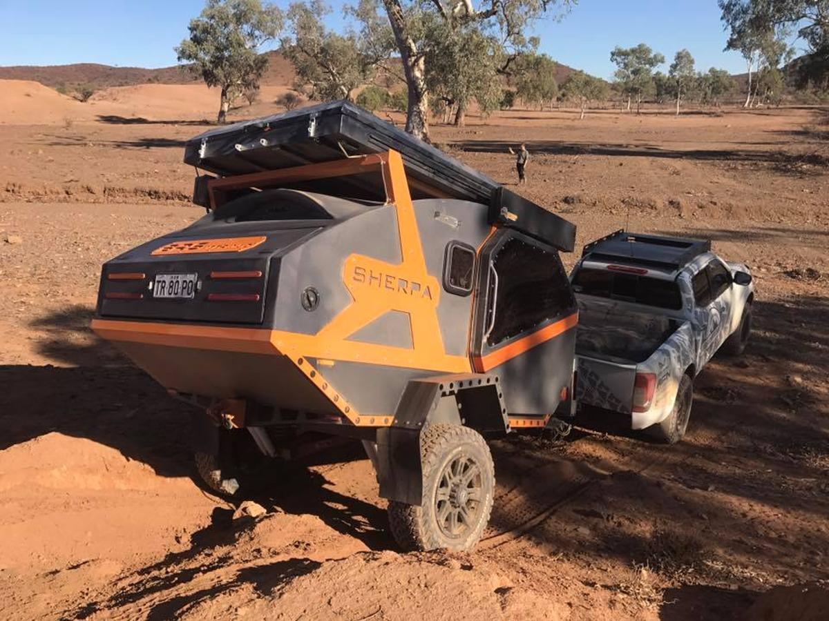 BRSOffroad has designed a special chassis to give the Sherpa added maneuverability