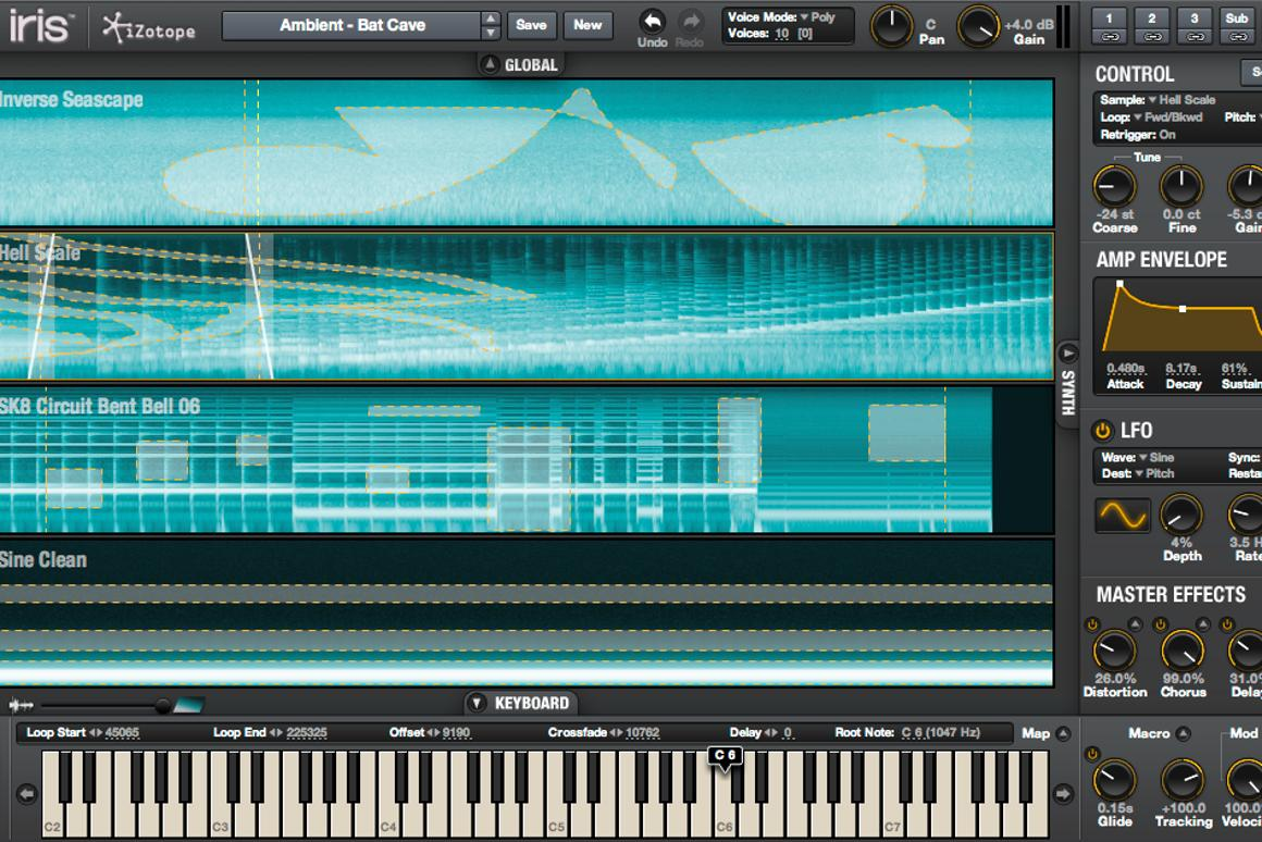 iZotope Iris - a new sampling re-synthesizer that lets you