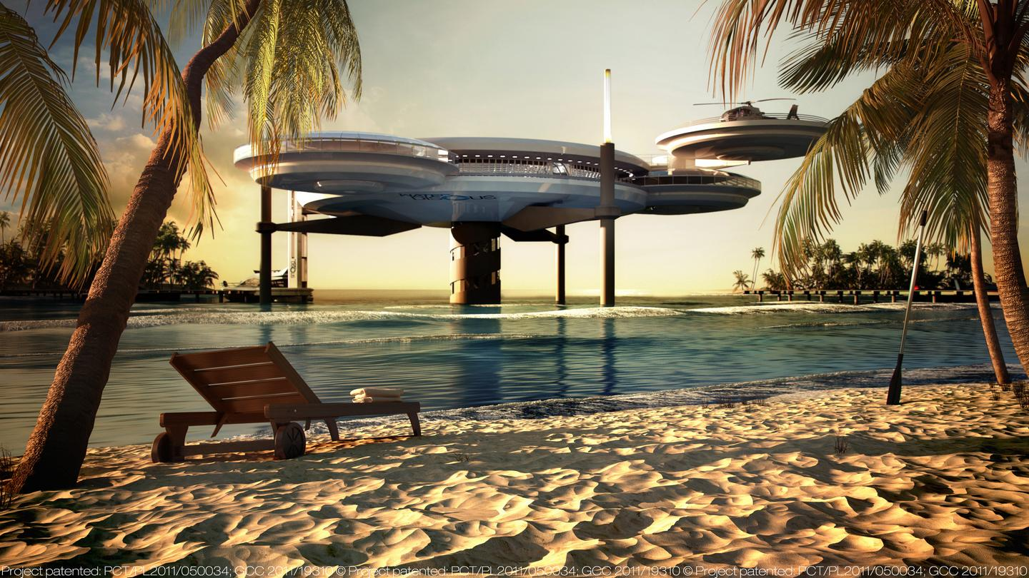 The underwater hotel will be based on the same concept slated for Dubai that we reported on last year