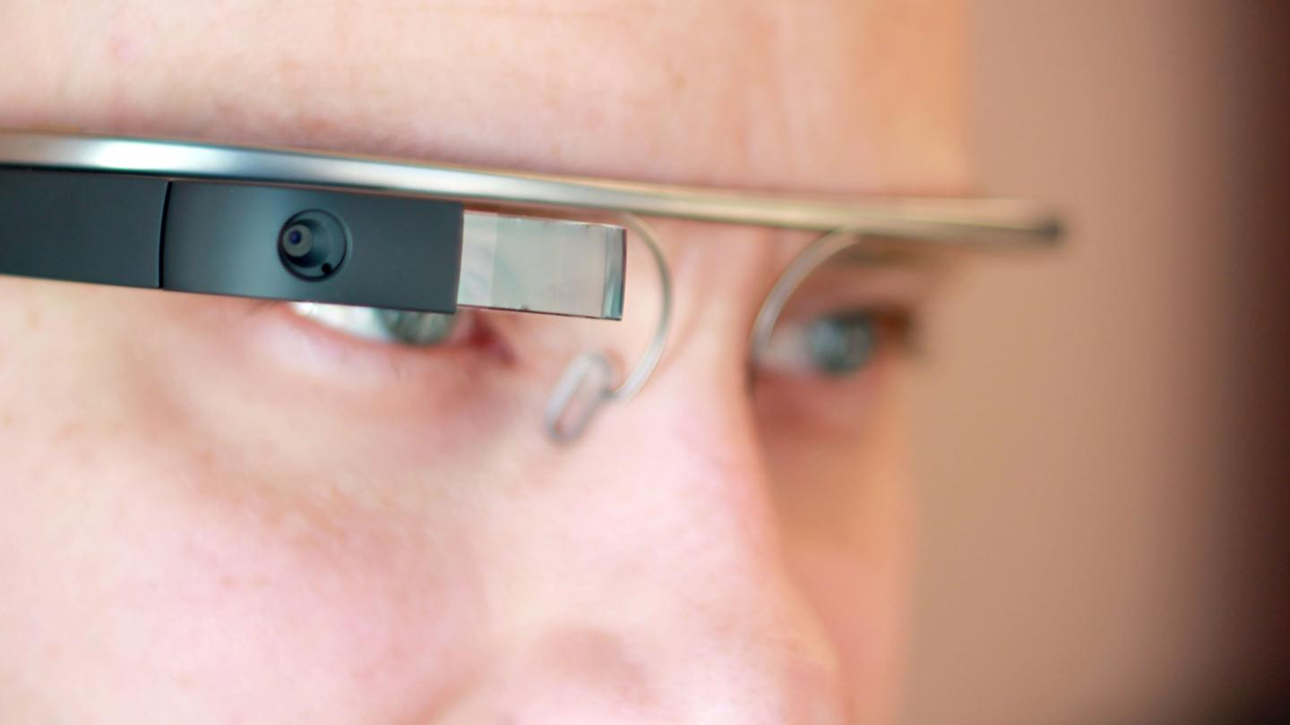 Be prepared to draw some stares if you wear Google Glass