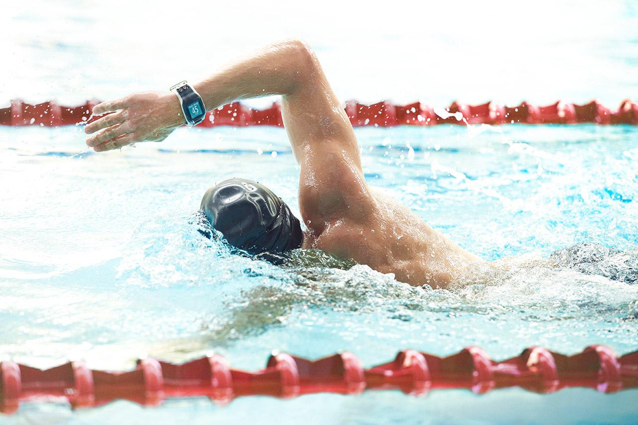 The TomTom Multisport is designed for swimming and cycling