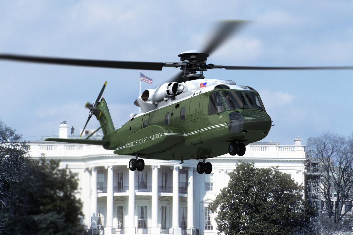 A fleet of 21 VH92s will replace the current Marine One fleet by 2023