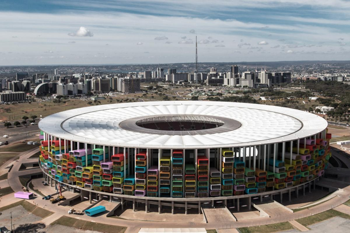 Casa Futebol would see pre-fabricated homes installed in Brazil's 12 World Cup stadiums