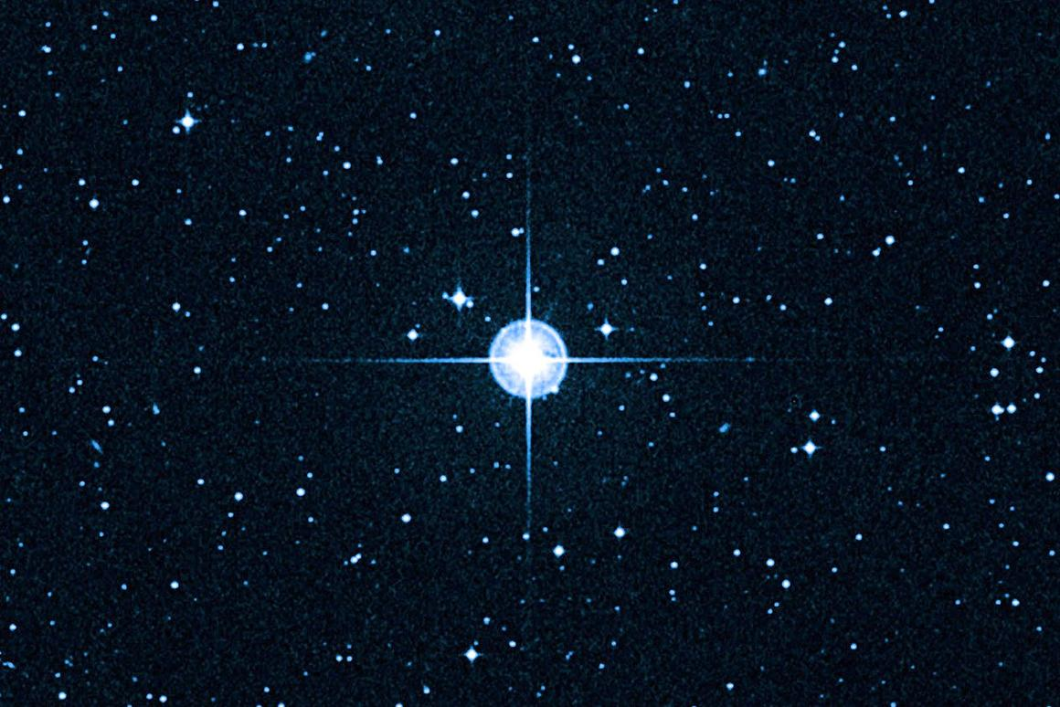 HD 140283 - the Methuselah star (Photo: Hubble via W.M. Keck Observatory)