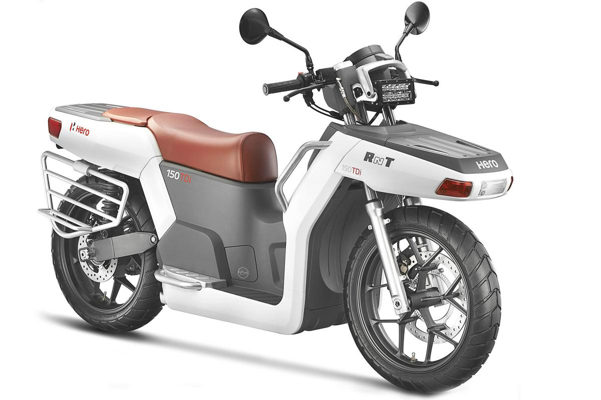 Hero Motocorp suddenly seems more than capable of replacing Honda's technology, it also seems capable of producing machinery better suited for the emerging market it currently serves, but also of producing truly ingenious solutions that existing long term manufacturers with deeply-rooted R&D structures could simply never envisage.