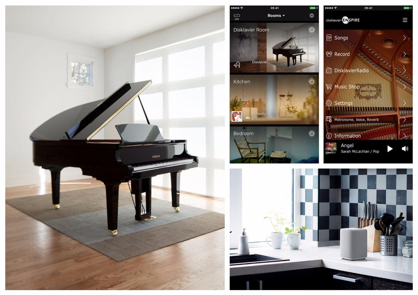Yamaha has made its new Disklavier Enspire reproducing piano MusicCast-enabled