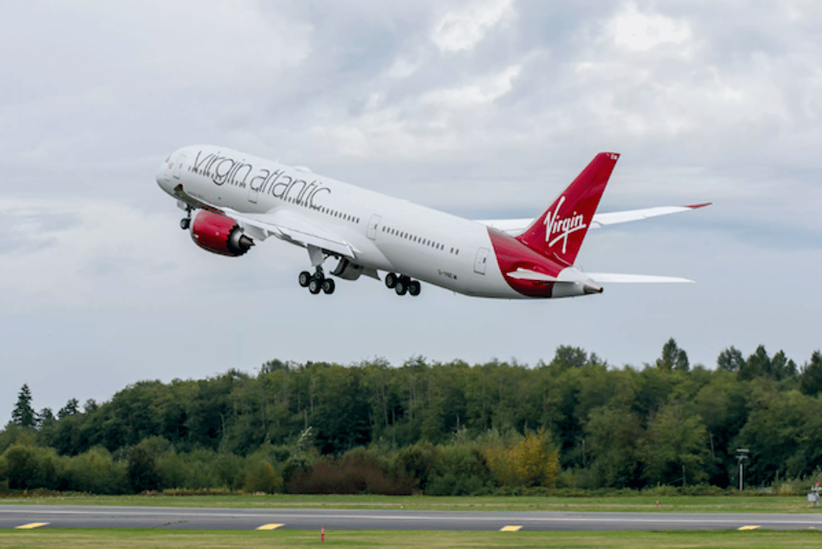 Virgin Atlantic and LanzaTech have produced the first 1,500 US gallons of alow carbonjet fuel created by capturing waste gases from steel mills