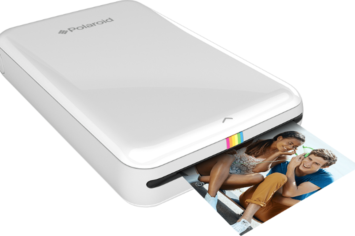 The Polaroid Zip is a new wireless mobile printer