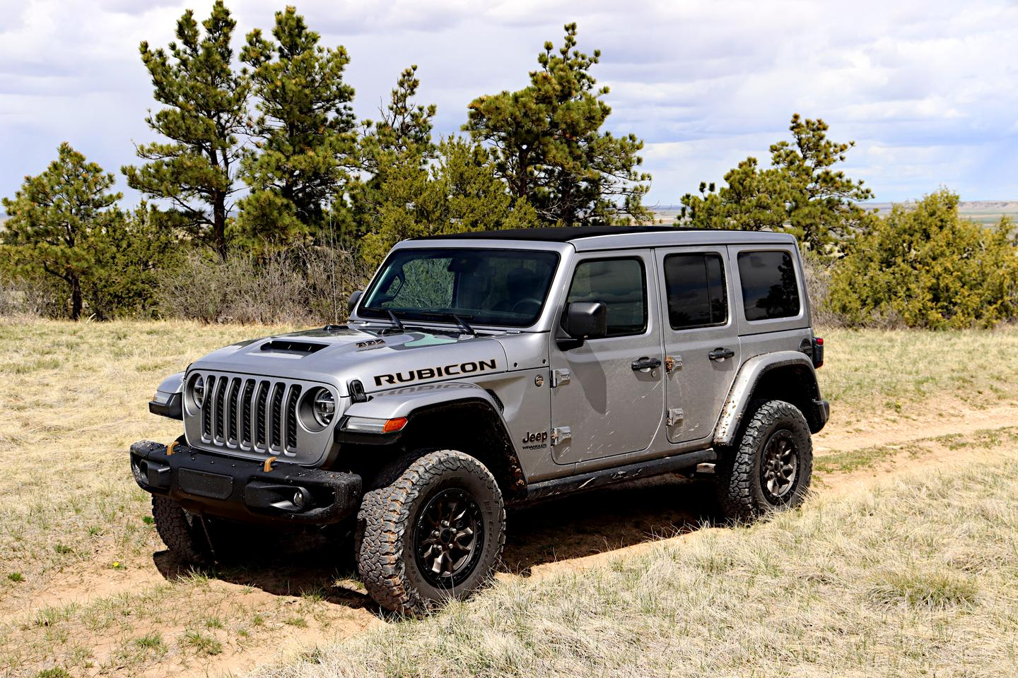The Wrangler 392 puts a 6.4L V8 under the hood for 470 HP and 470 lb-ft of torque
