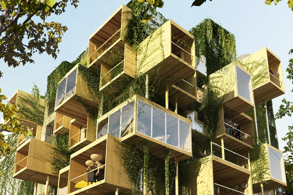 Malka Architecture saysthat Plug-in City 75 should be completed by mid-2018