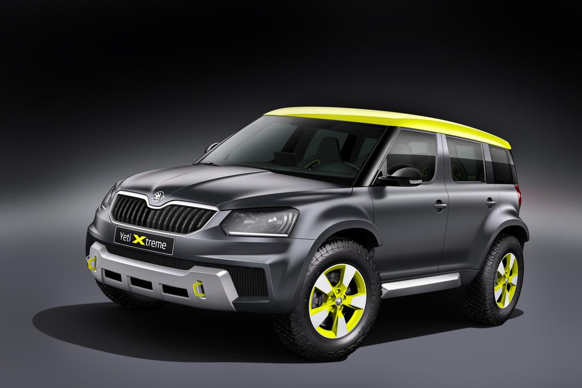 The Yeti Extreme concept will make its U.K. debut at Goodwood
