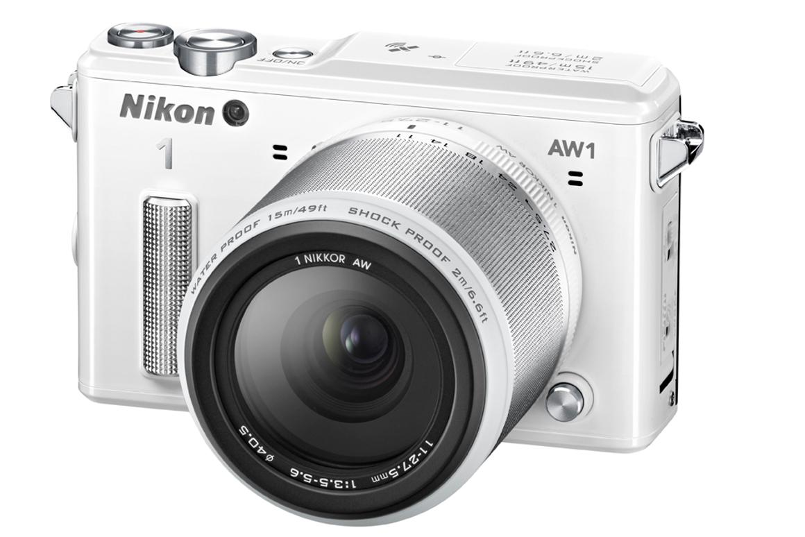 Nikon makes a splash with the AW1 waterproof mirrorless camera
