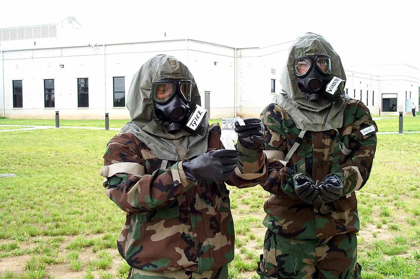 The new MOH material could be used to make better gas masks and suits for soldiers and emergency responders (Image: US Army)
