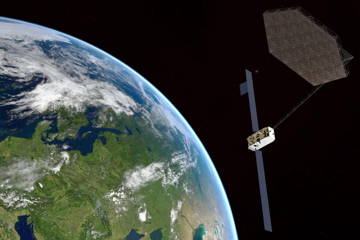 PERIOD technology could be used to assemble large reflector antennae and other components in space