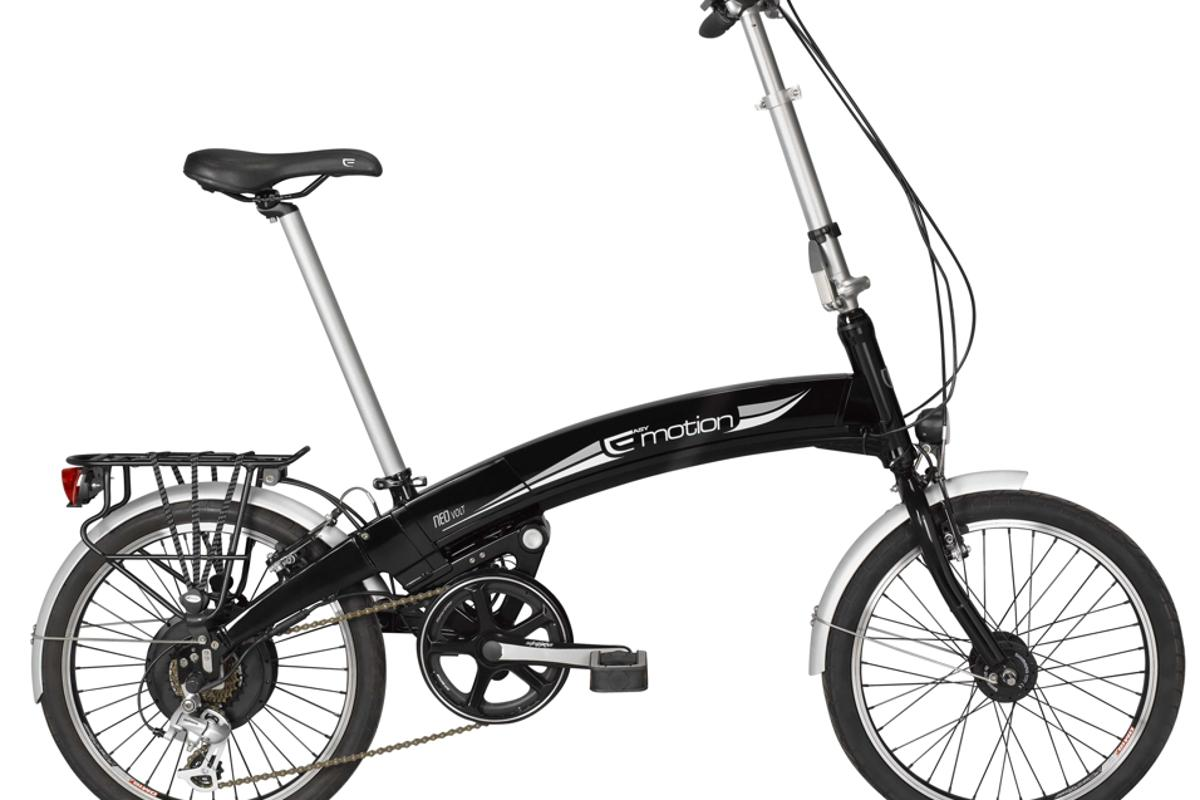 ITEM's NEO VOLT folding electric bicycle