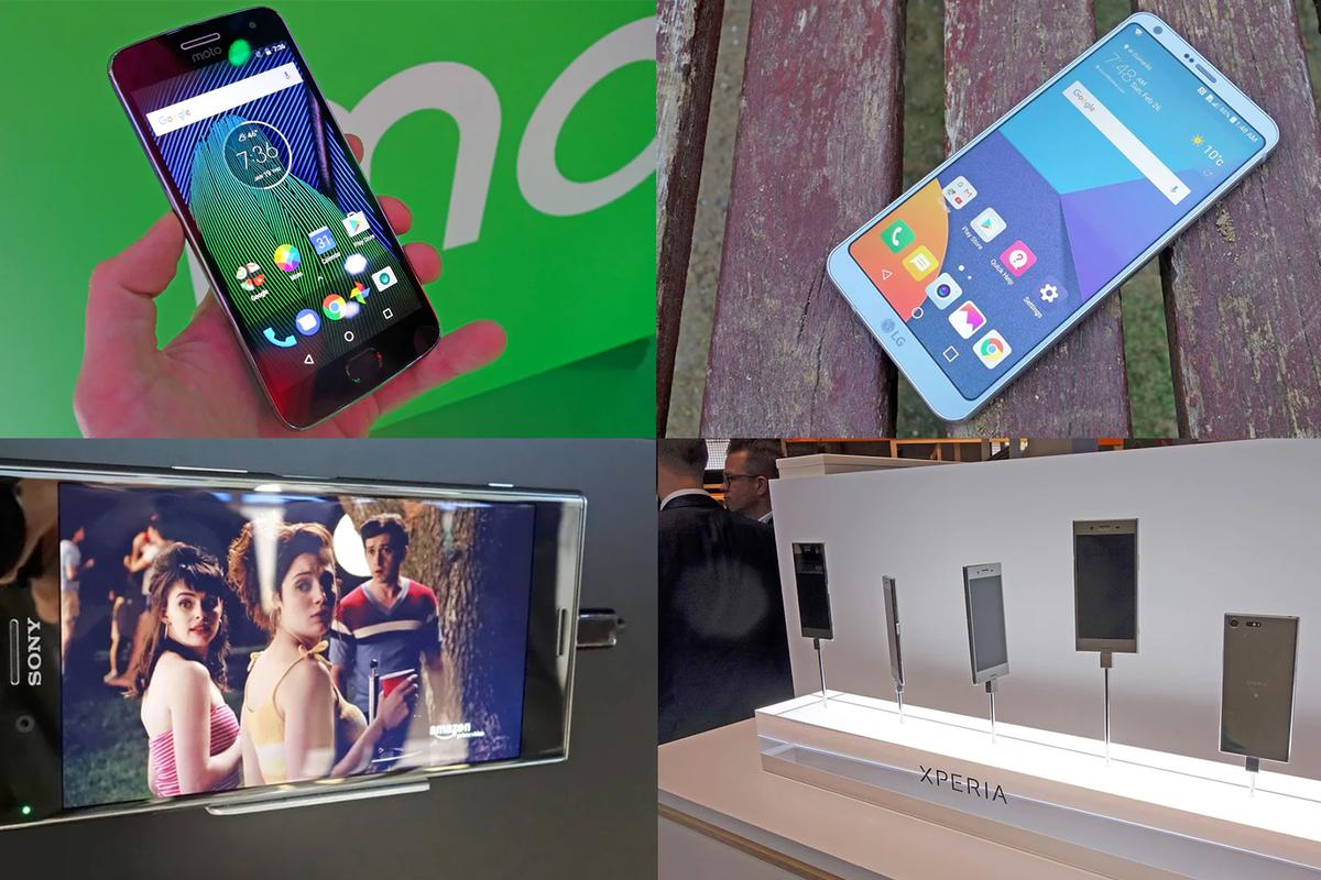 New Atlas' roundup of the best smartphones unveiled at the Mobile World Congress