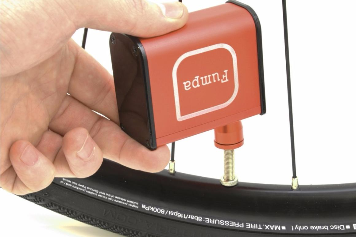 The miniFumpa is a reusable alternative to compressed air canisters