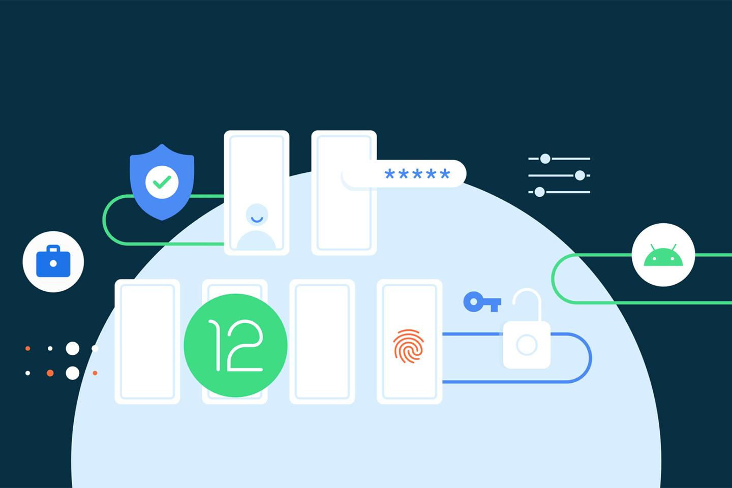 Android 12 is here ... for developers at least