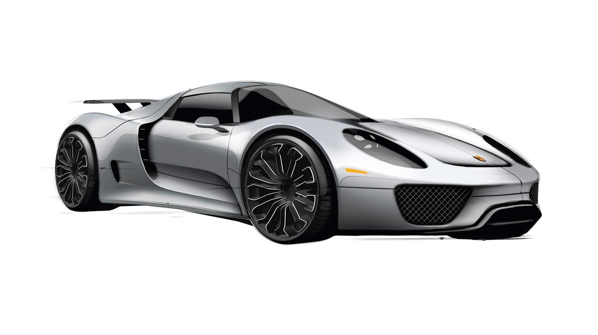 Porsche plug-in-hybrid 918 Spyder to go into production in 2013