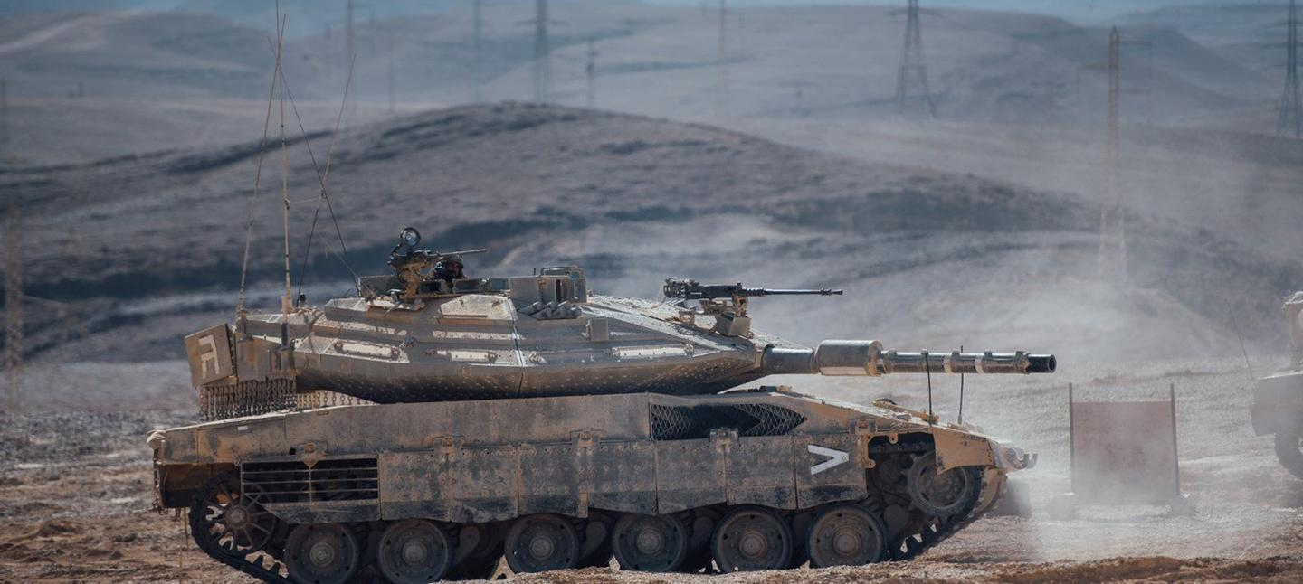 The Merkava Mark 4 Barak includes an artificial intelligence system