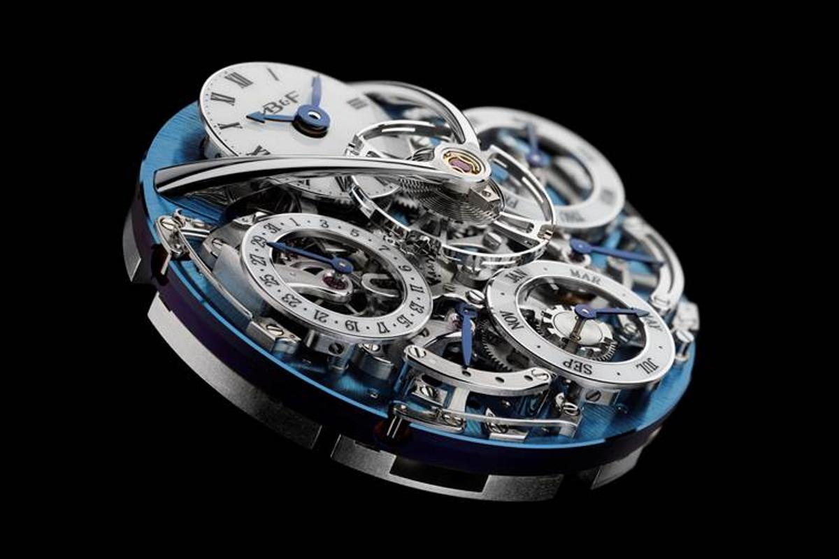 The Legacy Machine Perpetual uses a redesigned calendar movement