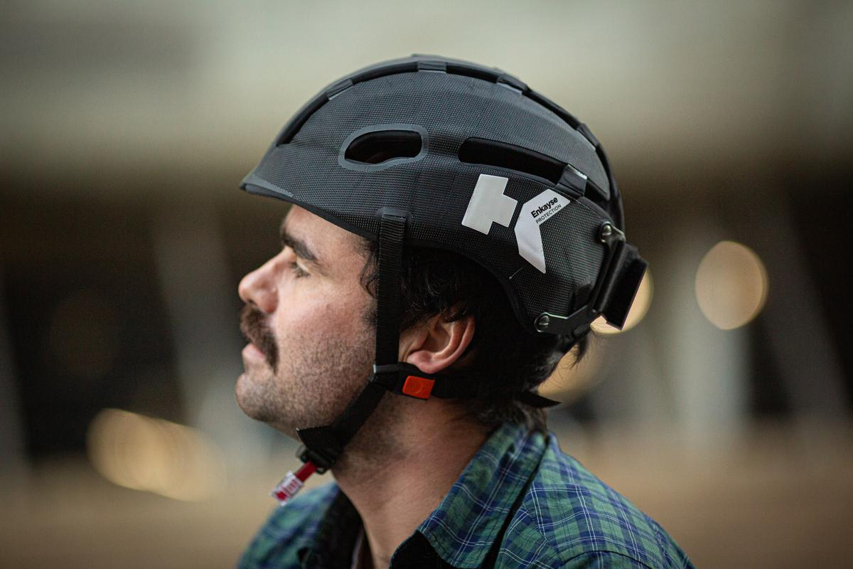 The Hedkayse One is the first bicycle helmet that can handle repeat impacts without losing its ability to protect your head in a crash