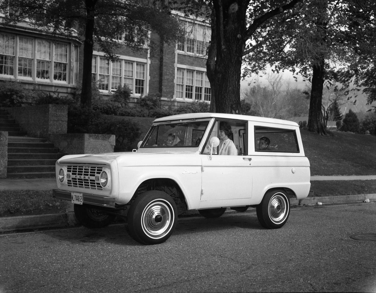 Ford launched the original Bronco in 1966