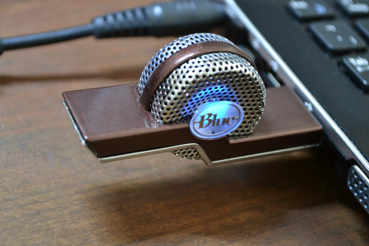 The recently released Tiki USB microphone from Blue Microphones