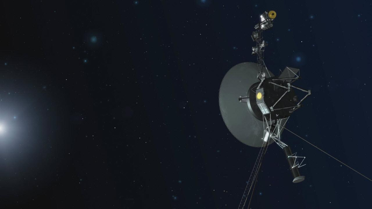 Artist's concept of the Voyager 1 spacecraft