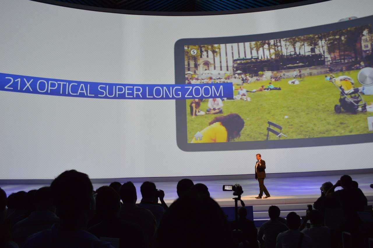 Samsung's GALAXY Camera was unveiled today at IFA 2012