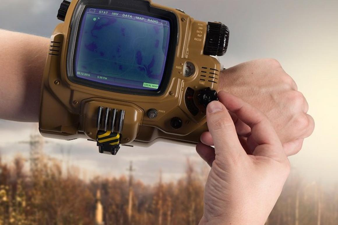 Bethesda has announced a limited edition smartwatch modeled on the Pip-Boy wrist computer, from the Fallout series