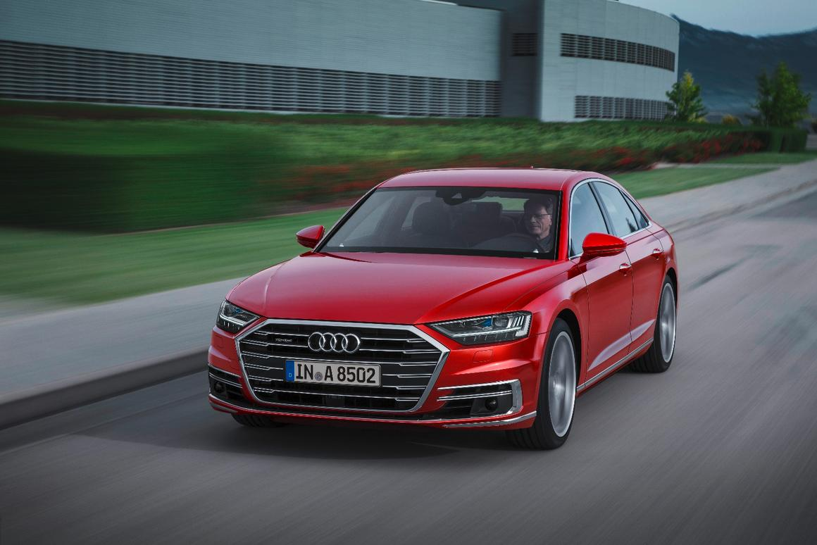 The all-new Audi A8