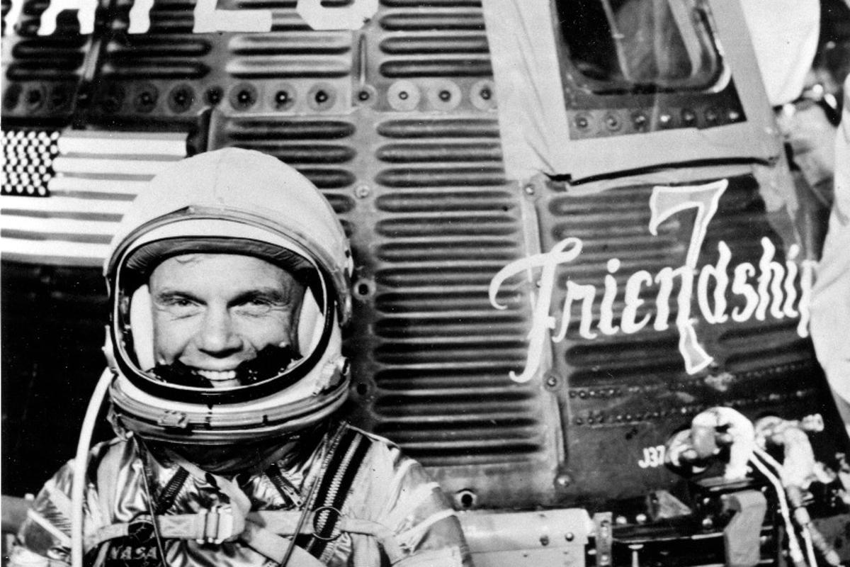 John Glenn and Friendship 7