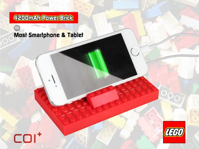 The COI+ Lego Power Brick, a block of Lego which acts as an external battery pack for your phone or tablet, is designed to offer on-the-go charging while adding a little creativity to the mix