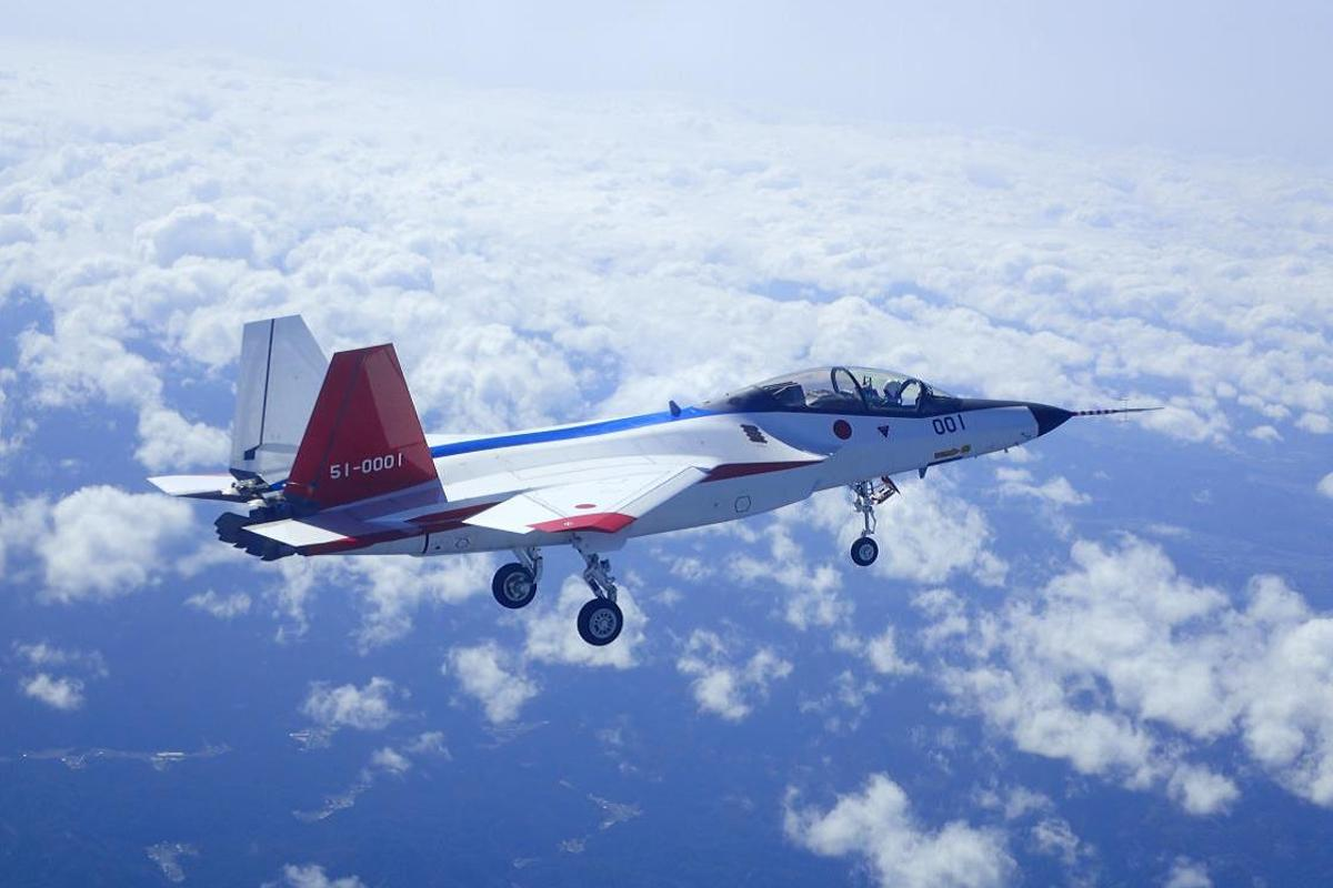 The X-2 uses a fly-by-light system that replaces wires with fiber optic cables