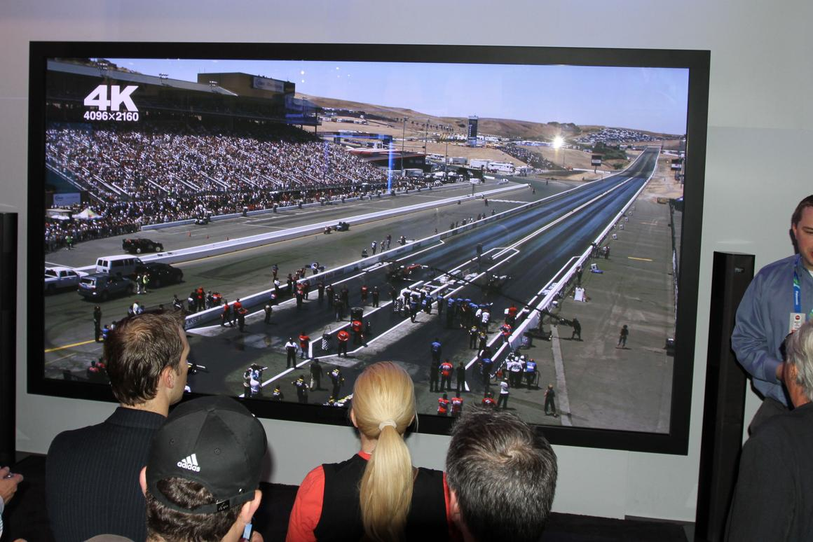 World's biggest TV: Panasonic's 4K2K 3D 152-inch Plasma