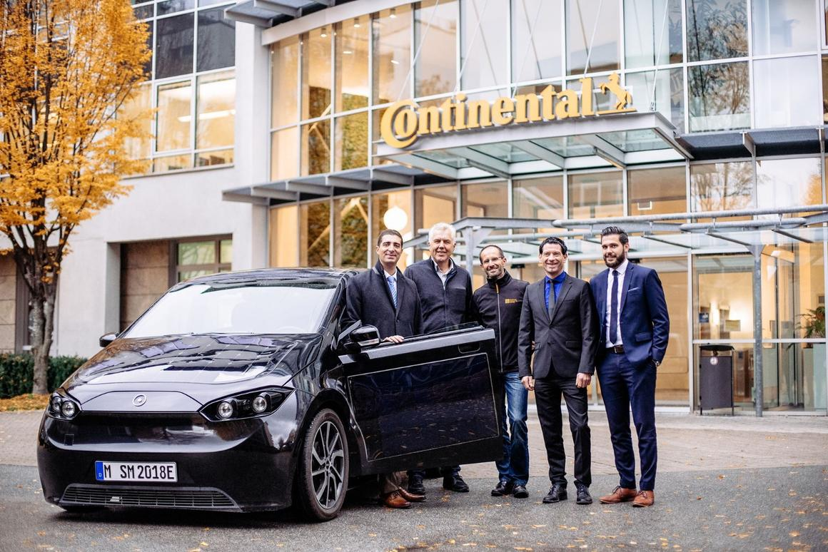 Sono Motors has revealed that Continental will manufacture the powertrain for the Sion EV, and that battery development costs are proving higher than anticipated