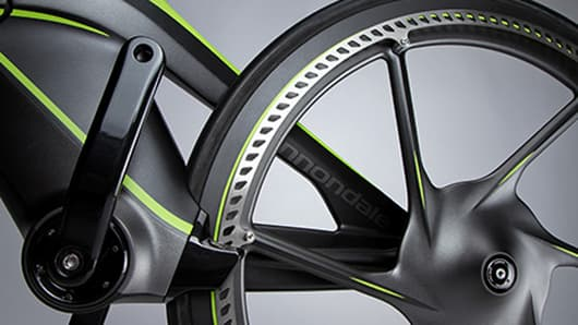 The CERV concept bike is chainless