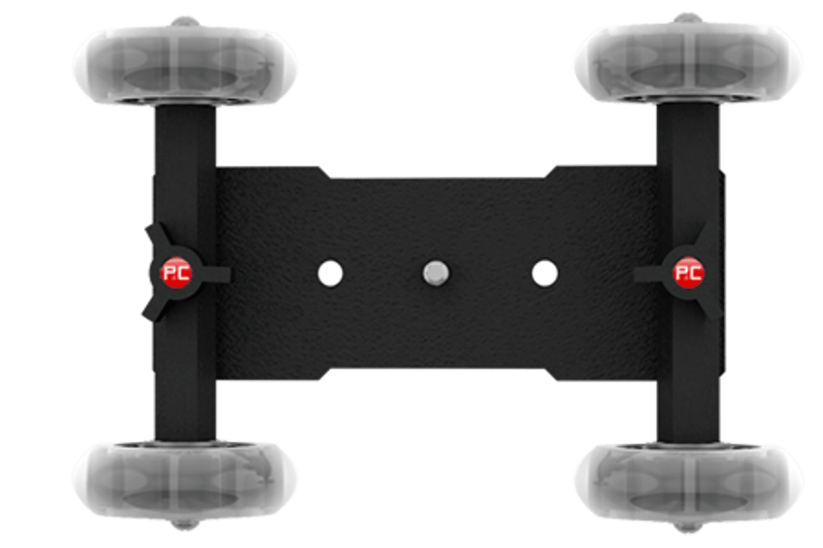 The Pico Flex Dolly allows low-budget film-makers to execute smooth tracking shots