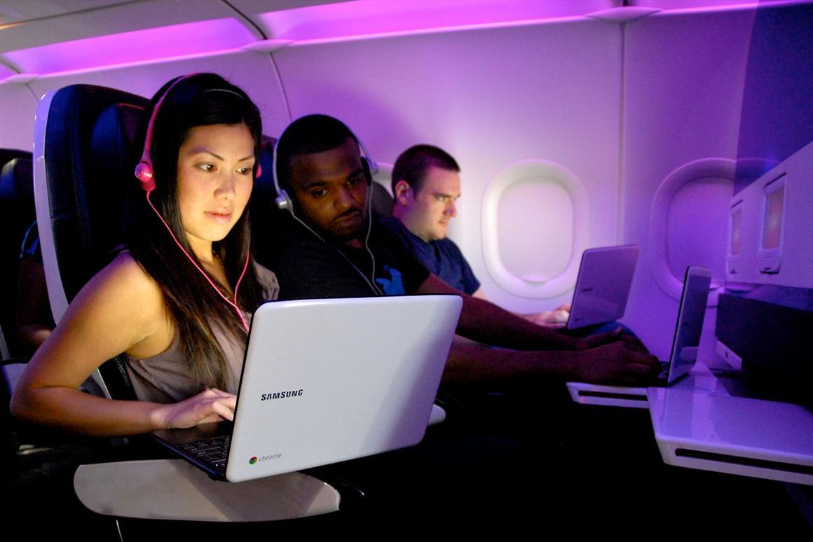 Virgin America passengers can 'test-fly' Chromebooks