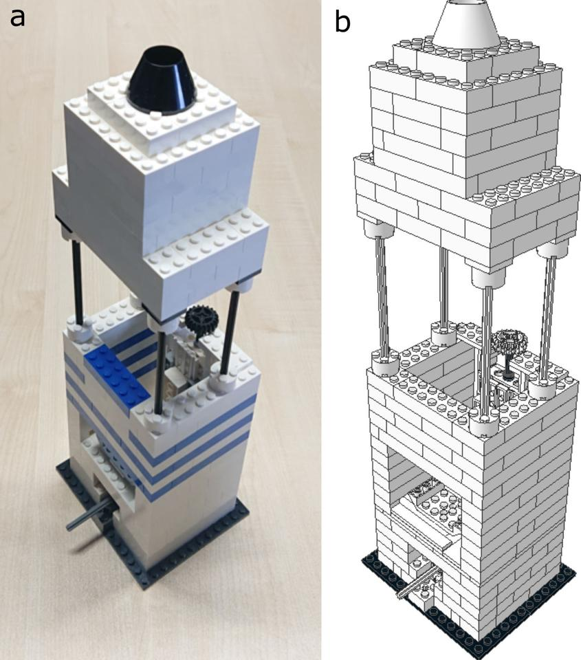 Scientists have produced a Lego-based high-resolution microscope, along with instructions on how to build it