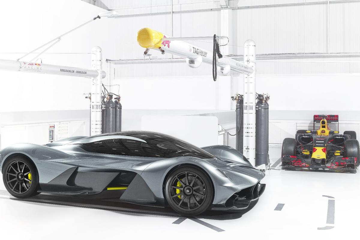The AM-RB 001 offers plenty for car lovers to get excited about
