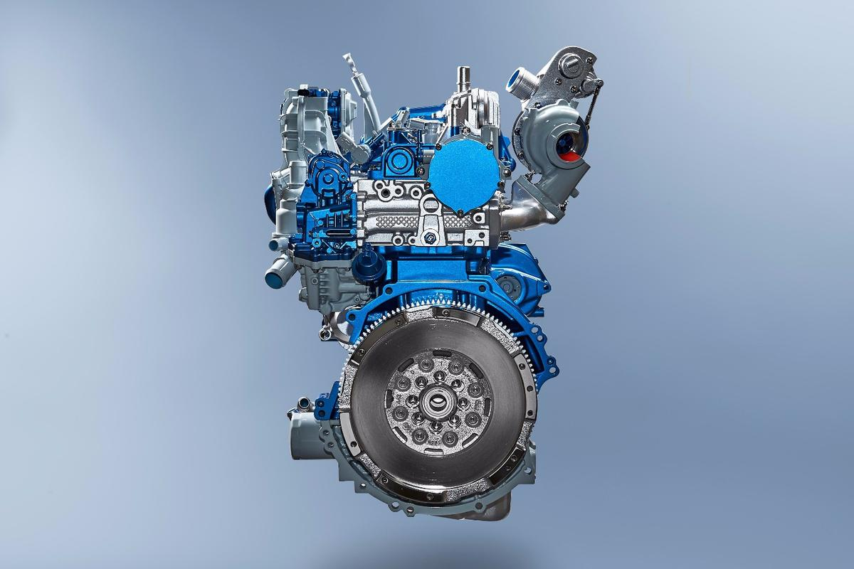 Ford's EcoBlue diesel has been designed to save fuel and deliver more power from the top down