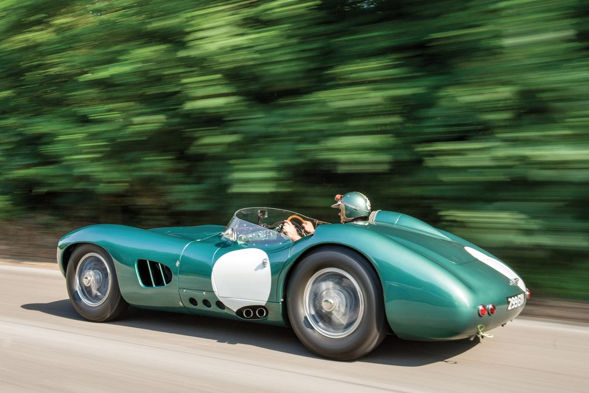 The DBR1won the 1000 km Nürburgring race three times in a row.