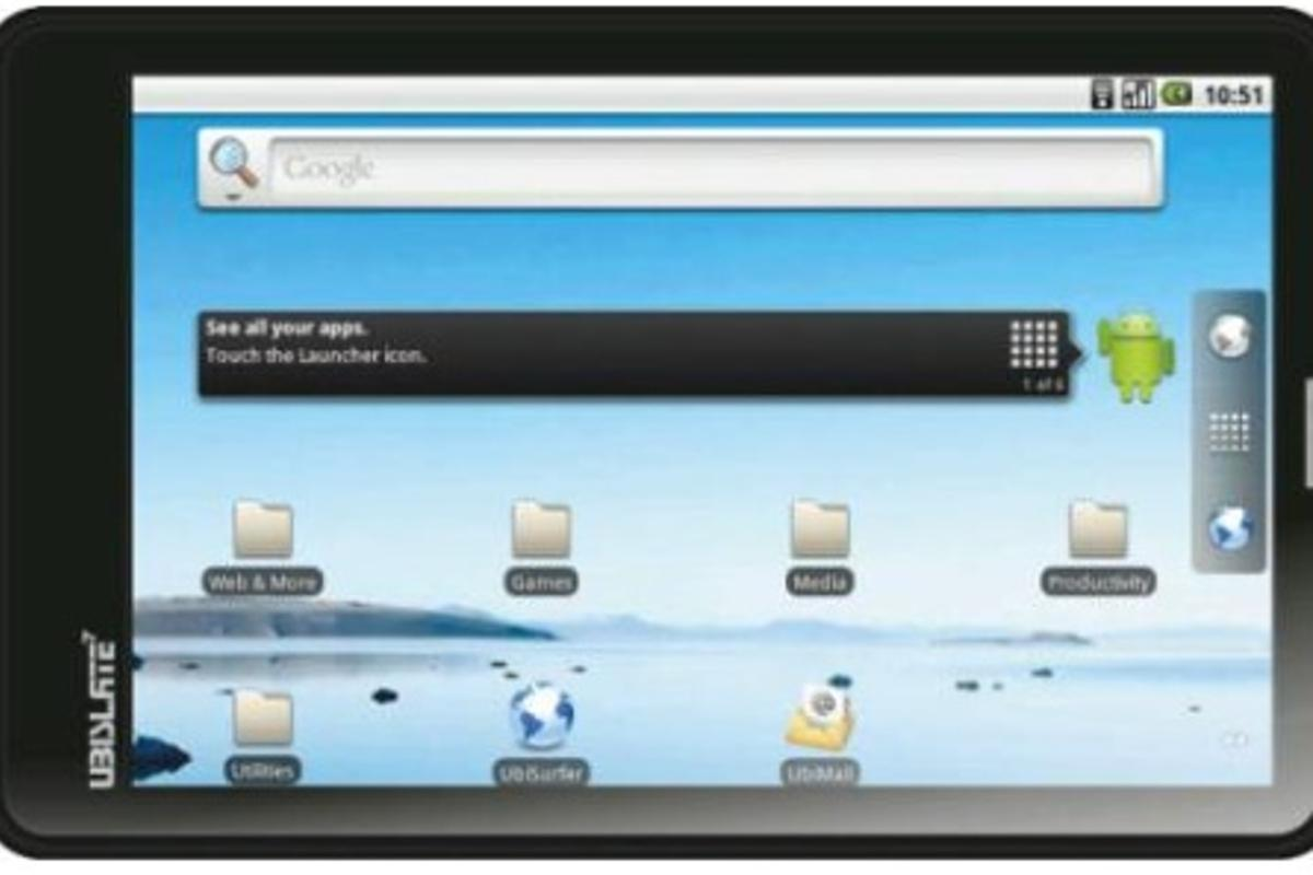 """India finally managed to launch probably world's cheapest 7-inch touchscreen tablet dubbed Aakash, or """"sky"""" in Hindi"""
