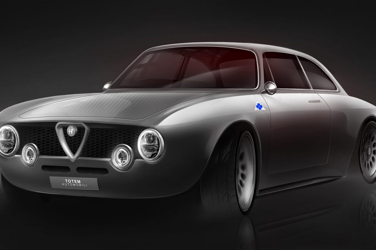 A look at Totem's work in modernizing the Alfa Romeo GT Junior