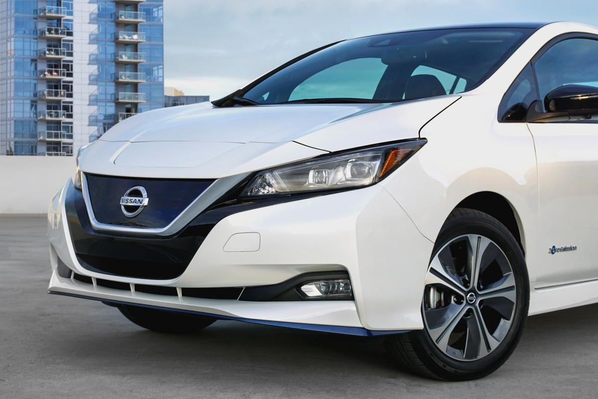 NIssan's Leaf e+ will be available from mid-year in the US and Europe