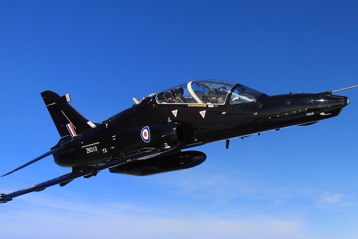 The Advanced Hawk is an updated version of the Hawk T2 shown here